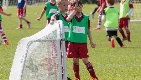 Tuesday 7th July 2015, Aberdeen FC, Scotland. AFC Soccer School  (Photo: Ross Johnston/Newsline Media)