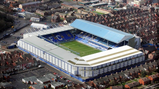 Everton want to move from Goodison Park to a new stadium in Walton Hall Park