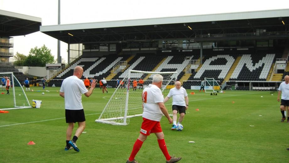 Programme - Walking Football (Large)