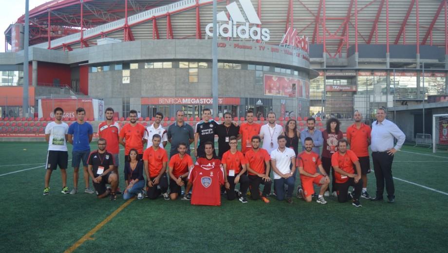 Benfica trainingssessie (Large)