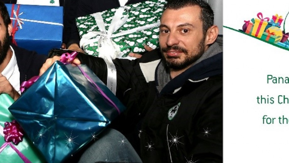 Panathinaikos Christmas celebration