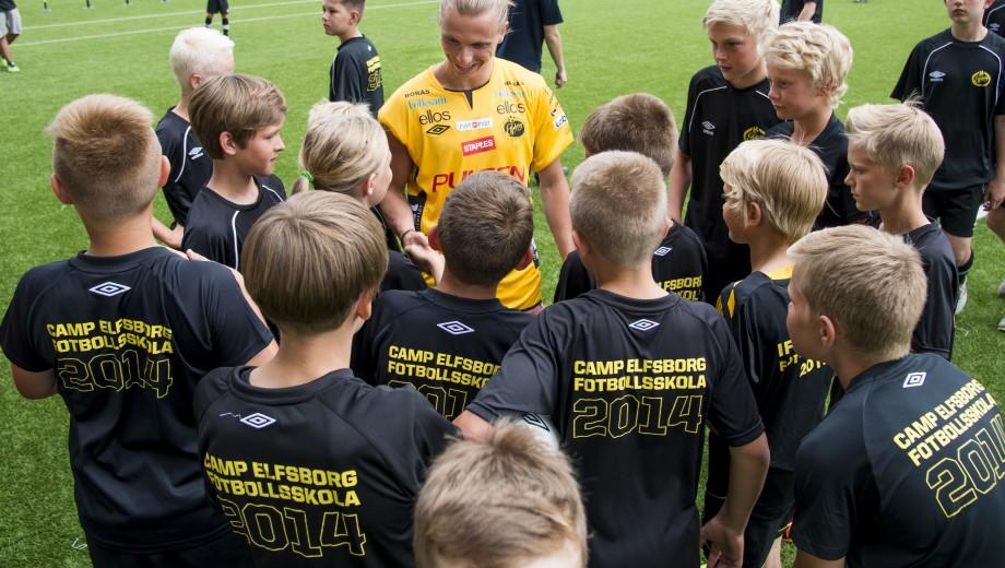 140618 under Elfsborg fotbollsskola, CampElfsborg, på Borås arena den 18 juni 2014 i Borås. Foto: Jörgen Jarnberger / BILDBYRÅN / Cop 112
