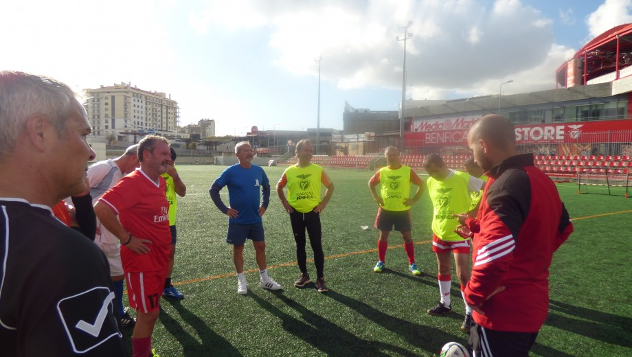 Bnefica Walking Football session