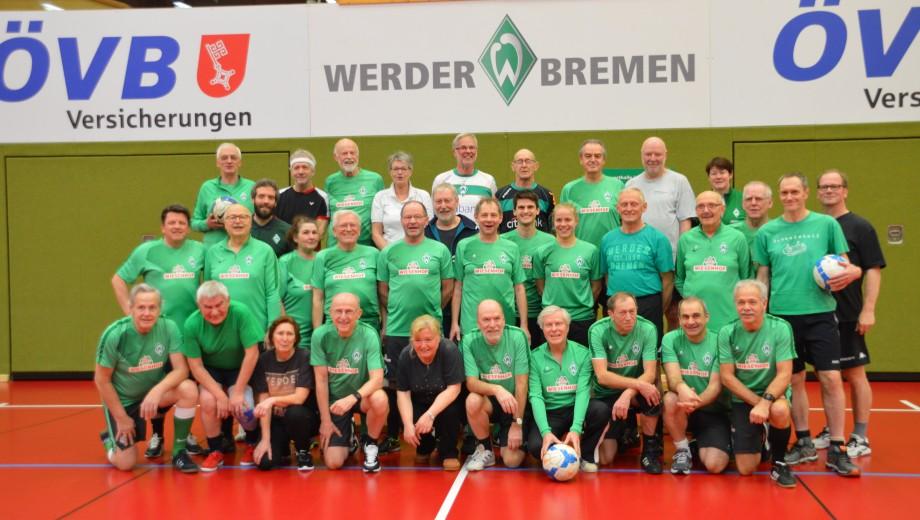 Werder Bremen Walking Football