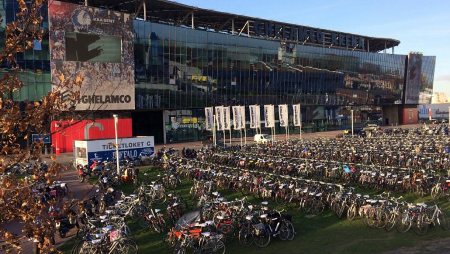 Stadia KAA Gent bike