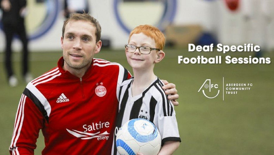 Deaf specific football sessions
