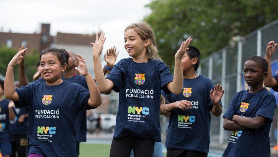 Festival Social esportiu FutbolNet al Bronx