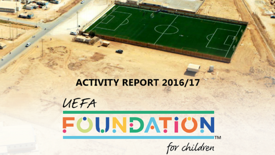 UEFA Foundation Activity Report