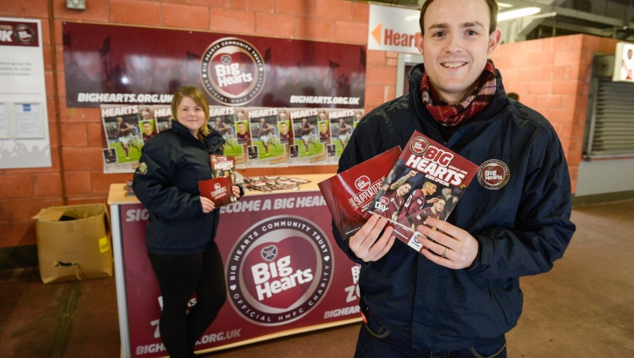 Hearts FC - Big Hearts Supporters