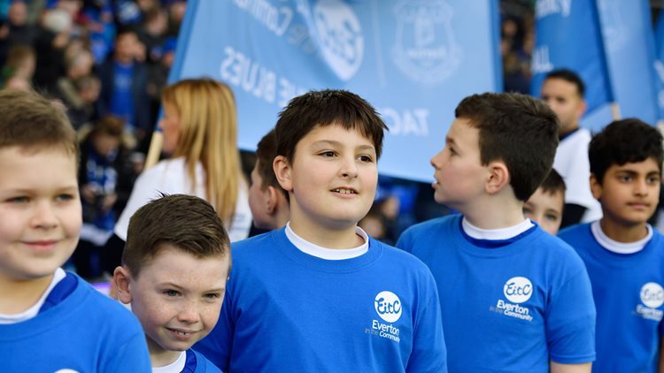 Everton in the Community - 30th birthday