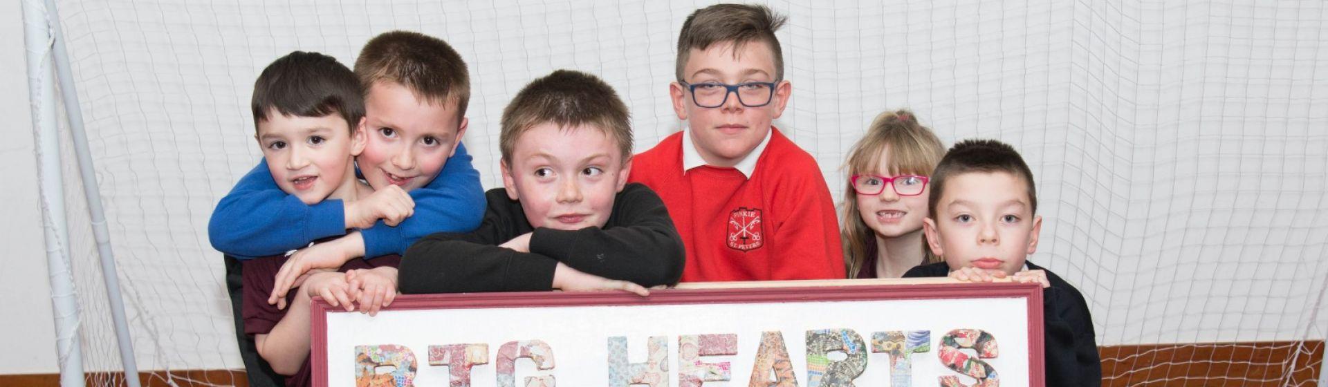 Hearts FC - Kinship care programme