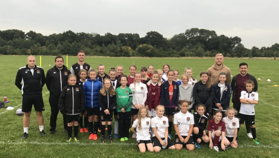 Northampton - PL Girls programme