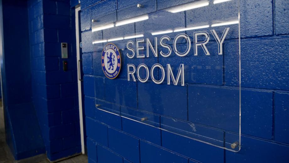 First sensory room - Chelsea Foundation