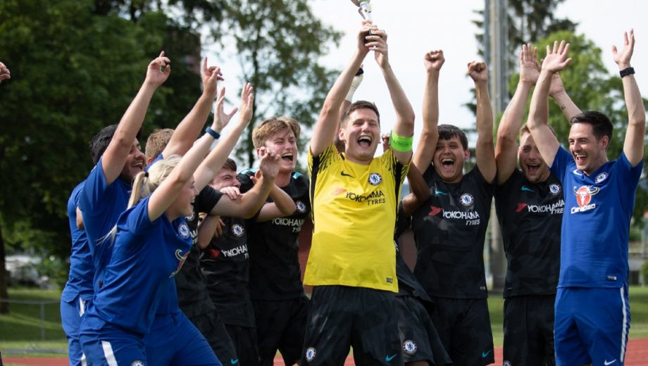 Chelsea Foundation - pan-disability team - European Success - Football is More Special Adventure Camp