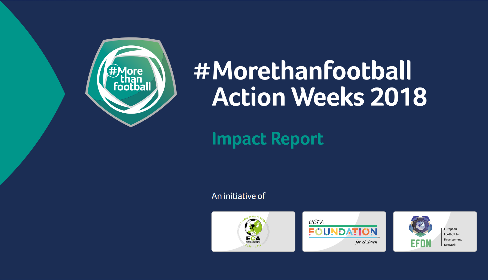#Morethanfootball Action Weeks Impact Report 2018