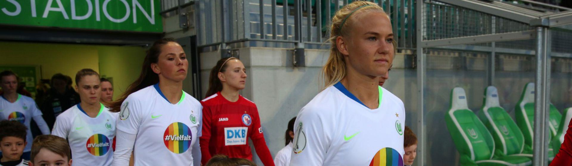 VFL Wolfsburg women team photo