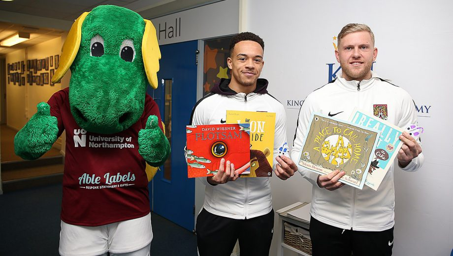 Clarence the Dragon with Shay Facey and David Cornell