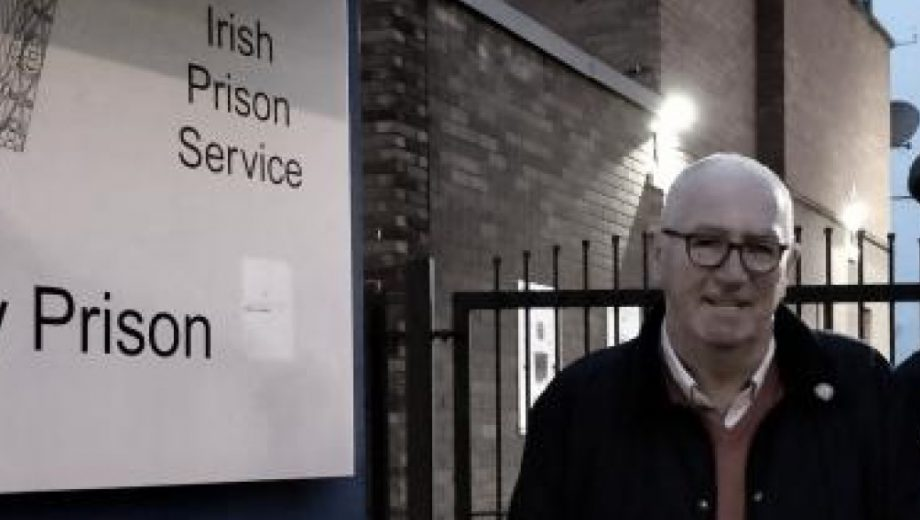 Bohemians Scott Allardice at Mounjoy Prison