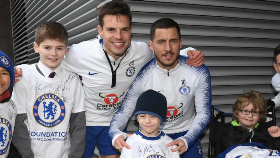 Header image for chelsea foundation 17-18 report