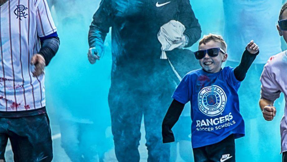 Header for Rangers Get All Blue