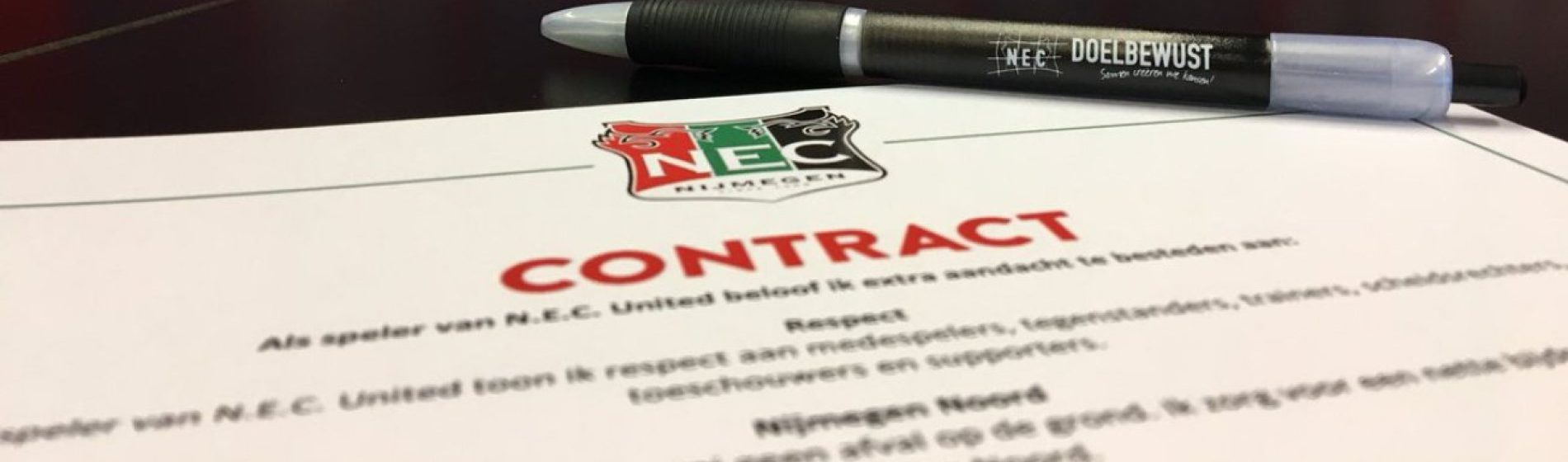 NEC United Programme Contract