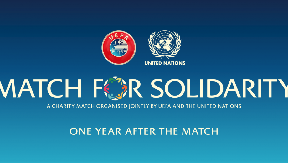 Match for Solidarity banner