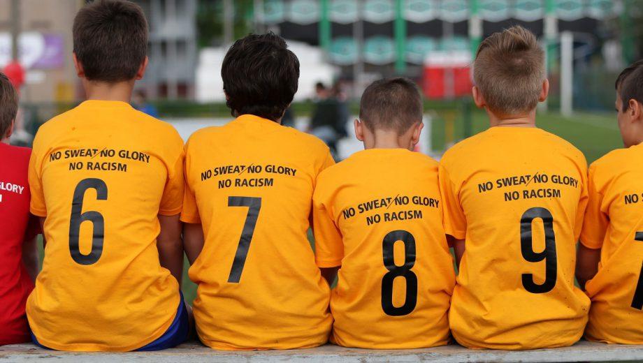 Club Brugge Cup No Sweat, No Glory, No Racism