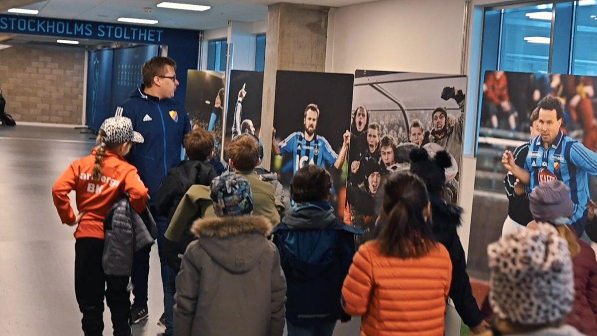 Djurgarden Fotball - Mini Camp Stadium visit