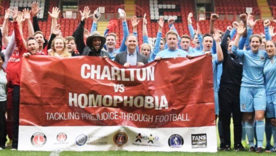 Charlton v Homophobia