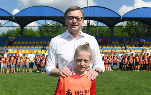 Come On, Let's Play final Shakhtar CEO