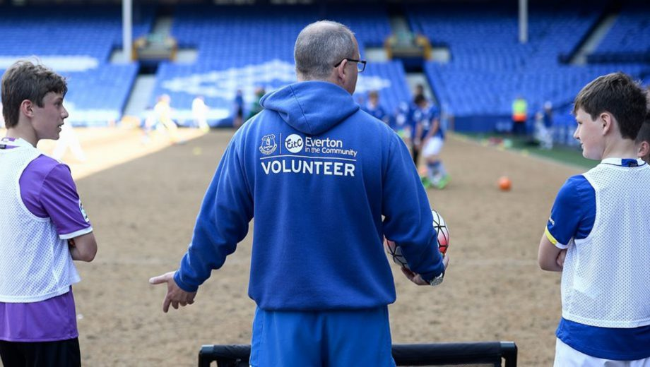 Everton volunteer recognition header
