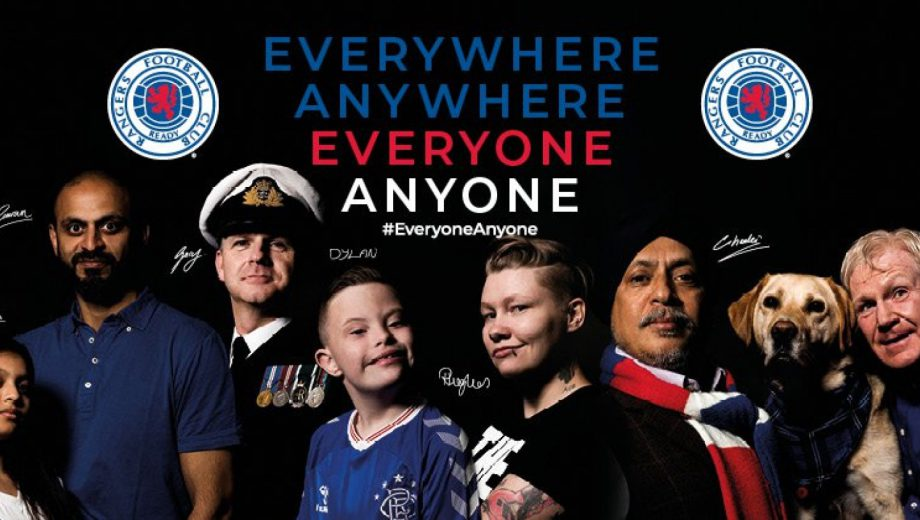 Rangers launches new inclusion & diversity campaign header