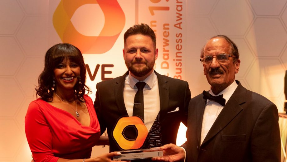 Blackburn Rovers Community Trust win HIVE Awards header