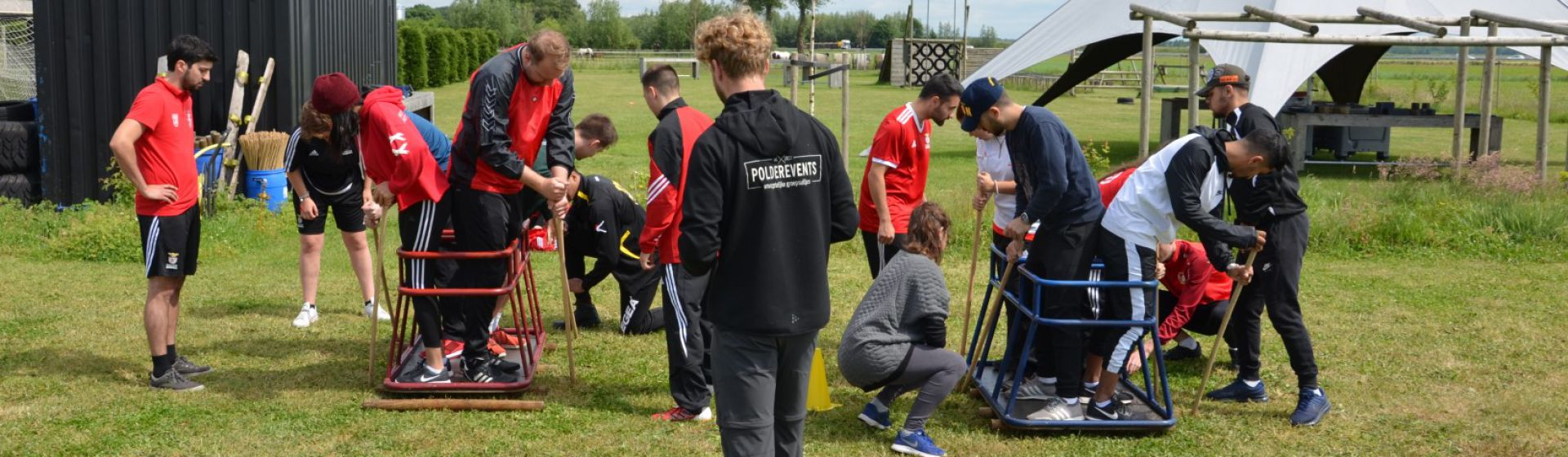 Breaking Barriers through Football Youth Exchange in Lisbon header