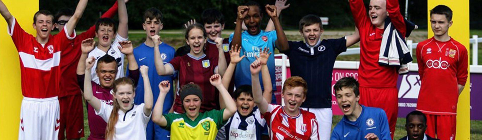 Aston Villa disability summer cup header