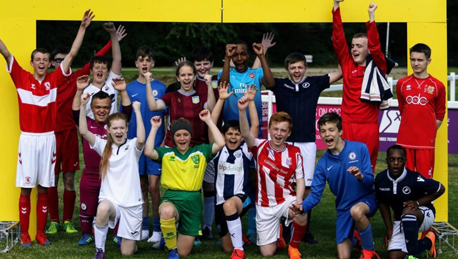 Aston Villa disability summer cup header