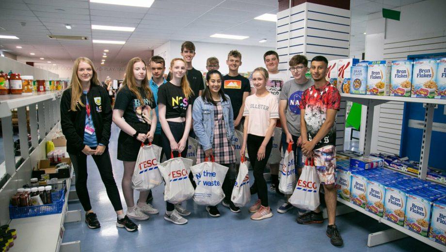 NCS participants support Burnley Community Kitchen header