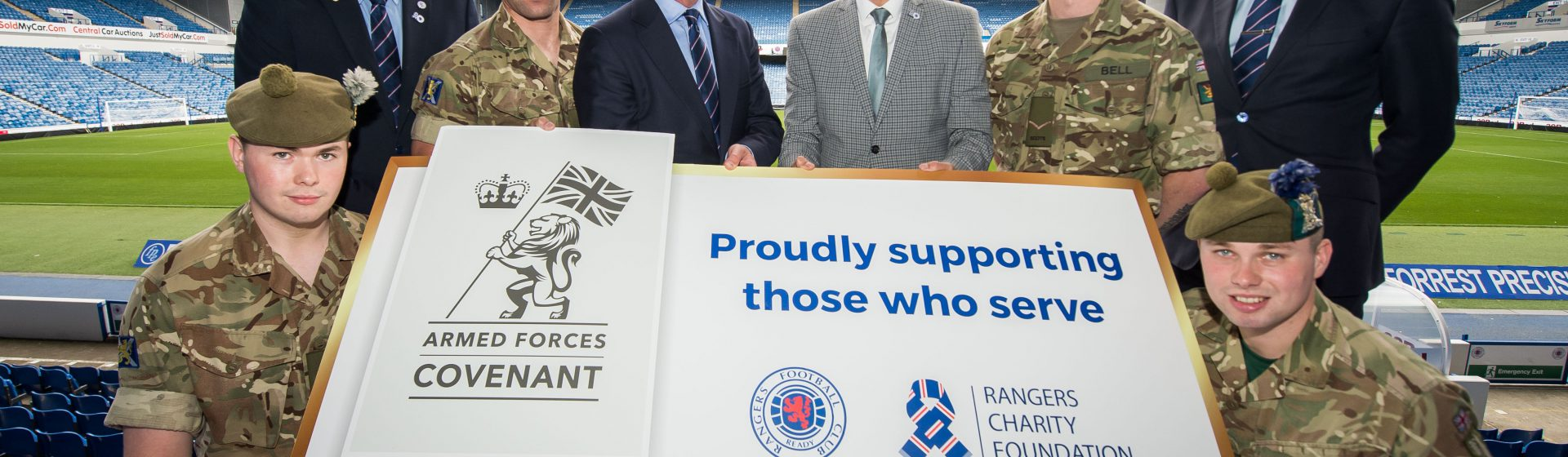 Armed Forces Foundation >> Ection For New Armed Forces Partners At Rangers Foundation